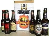 Cerveza Box - 6 Mejores Cervezas Españolas Ganadoras World Challenge Beer, Estrella Galicia 1906 Reserva Especial, Red Vintage, Black Coupage, Ambar Export, Mahou Maestra, Mamba Negra - Regalo bi
