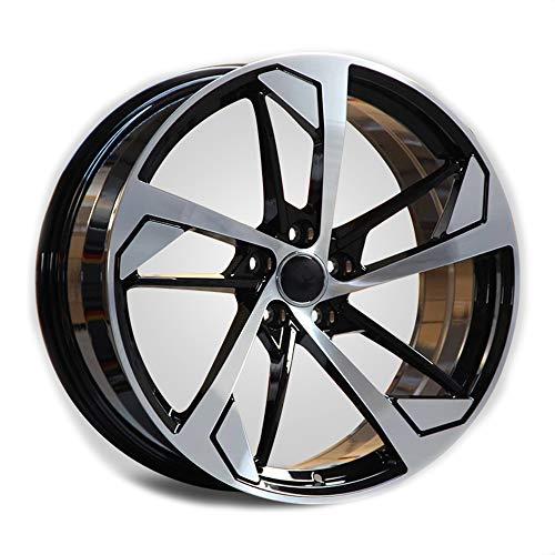 GYZD Alu Felgen 18 Zoll Durchfluss geschmiedete Radlegierung Ersatzrad Auto Rad Maschine Aluminium Felge Passend für R18 *8J Reifen Geeignet für a4l a6l a3 a4 a7 a5 q7 1 Stück,D