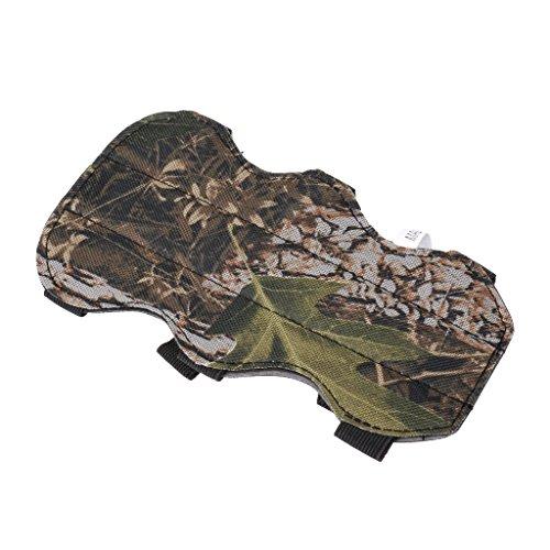 HomeDecTime Armschutz Mit 3 Riemen, Bogenschießen Sport Arm Guard, Armschoner