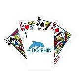 Blue Ocean Dócil Dolphin Illustrate Poker Juego de cartas mágicas