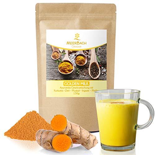 Golden Milk • Goldene Milch • Gewürzmischung 150g • Yoga Drink • Latte Mischung mit Kurkuma, Muskatnuss, Ingwer und Zimt • ZUCKERFREI