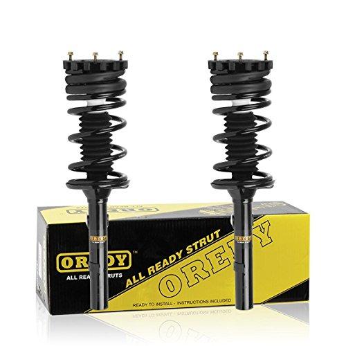 OREDY Struts Rear Shocks Struts Coil Spring Suspension Shocks Struts 171616...