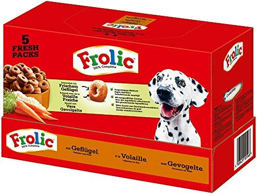 Frolic Hondenvoer, Droogvoer, met Gevogelte, Groenten en Rijst, 1 Doos (7,5 kg)