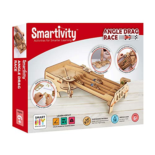 Smartivity Angle Drag Race STEM Learning Toy for 19.65