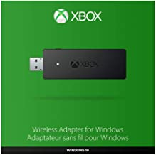 Xbox Wireless Adapter for Windows 10 (Renewed)