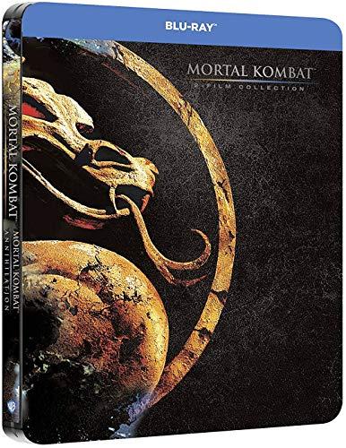 Mortal Kombat - Steelbook 2 películas - Mortal Kombat + Mortal Kombat: Aniquilación [Blu-ray]