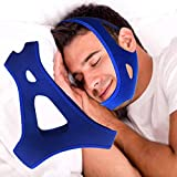 Anti Snoring Chin Strap Adjustable Stop Snoring Solution for Men and Women, Anti Snoring Devices Snore Stopper Chin Straps, Sleep AIDS for Snoring Sleeping Mouth Breather