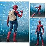 LZH 15cm Spider-Man Modelo Articulado Estatua del Niño Colección De Regalos...