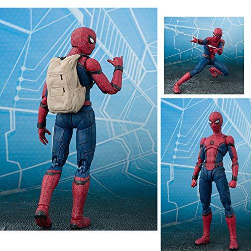 LZH 15cm Spider-Man Modelo Articulado Estatua del Niño Colección De Regalos