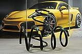 Producto nuevo. Porsche Boxster 986.1 1997-2001 - Muelle de tornillo para parte trasera, color azul y amarillo