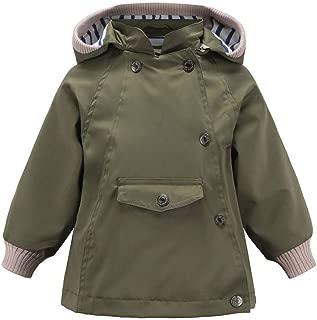 Minshao 2019 Nouveau B/éB/é Gar/çOn Vestes /à Capuche Manches Longues Coupe-Vent Coton Manteau Voiture /éToile Imprim/éE Hiver Automne 18Mois~6Ans
