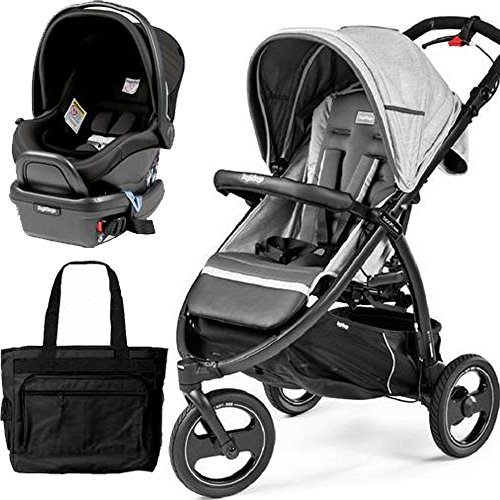 Fantastic Deal! Peg Perego - Book Cross Atmosphere Travel Systems with a Diaper Bag