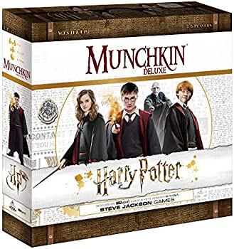 Usapoly Munchkin Deluxe Harry Potter Board Game