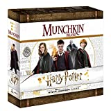 USAOPOLY Munchkin Deluxe Harry Potter Board Game | Officially Licensed Harry Potter Gift | Collectible Steve Jackson's Munchkin Game, Mixed Colours