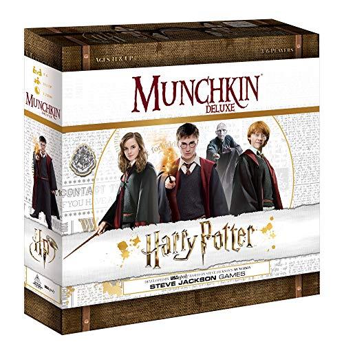 USAopoly Munchkin Deluxe Harry Potter Card Board Game Juego de Cartas - Ingles