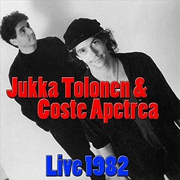 Jukka Tolonen & Coste Apetrea, Live 1982 (Live)