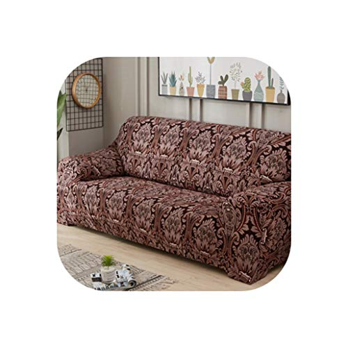 Leopard Pattern Universal Elastic Stretch Sofa Covers Living Room Couch Slipcovers Cases Spandex Furniture Protector Home Decor,20,Four seat Sofa