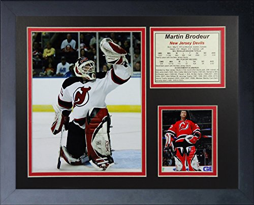 Martin Brodeur New Jersey Devils NHL Framed 48th Win Photograph Milestone Collage