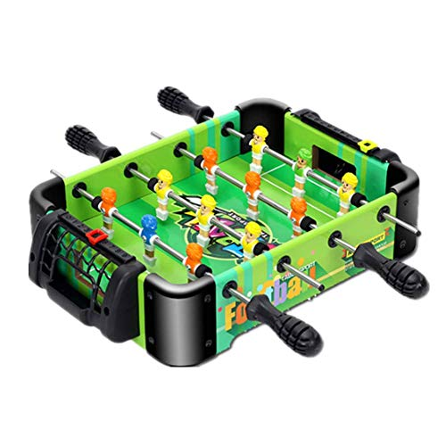 Tafelvoetbaltafel Gemakkelijk Monteer Houten met voetballen Compact Mini Indoor Soccer Game voor Arcades, Game Room, Bars, feesten, Family