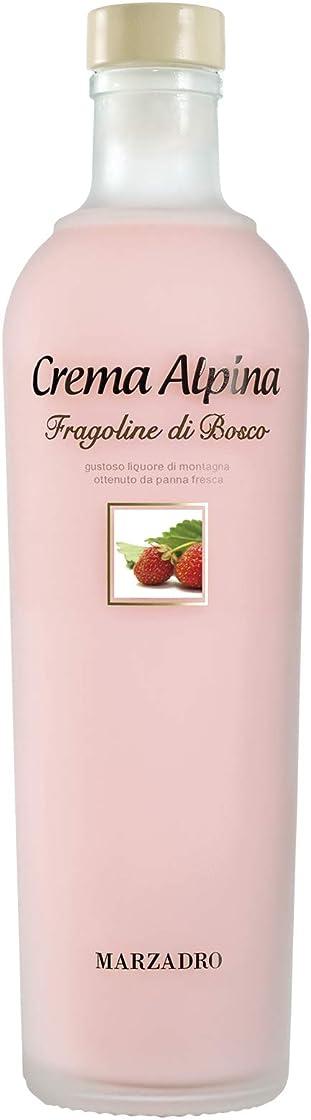 Liquore crema alpina alle fragoline di bosco 70cl B01E05G5OK