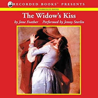 The Widow's Kiss audiobook cover art