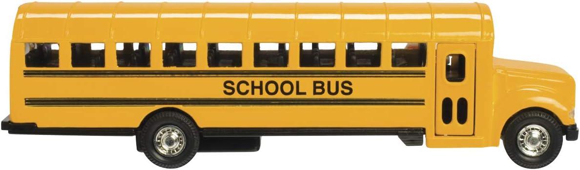 famous KinsFun Large School Bus 6
