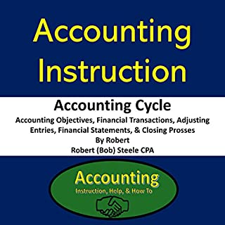 Accounting Instruction - Accounting Cycle audiobook cover art