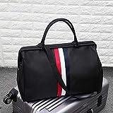 FHOMDOD Tragbare Reisetasche, Multi-Pocket-Kombination, Großvolumige Faltbare Gepäcktasche,...
