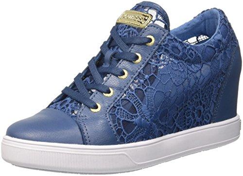 Guess Finna, Scarpe da Tennis Donna, Blu (Bleu/Blue), 40 EU