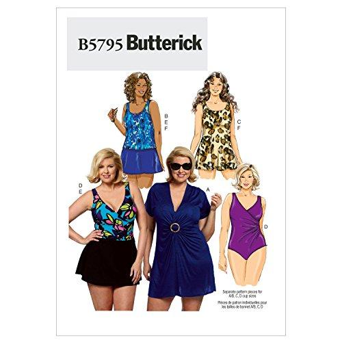 BUTTERICK B5795 - Patrón de Costura para Confeccionar Vestidos y Trajes de...