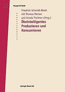 Okointelligentes Produzieren und Konsumieren