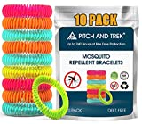 Mosquito Repellent Bracelet for Kids, Adults & Pets - 100% Natural Deet-Free – Non Toxic - Waterproof Safe...