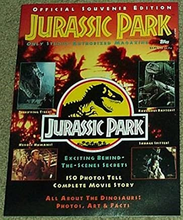 Jurassic Park Magazine Official Souvenir Edition