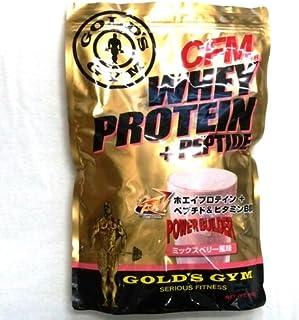 GOLD'S GYM ホエイプロテイン ミックスベリー風味 900g [その他]