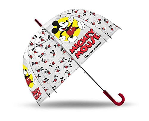 Mickey Mouse Mickey, Paragua, 80 cm, Multicolor