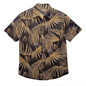 NHL Mens Floral Shirt: Vegas Golden Knights, Medium by Team Beans, LLC