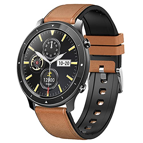 shjjyp Smartwatch Reloj Inteligente Hombre con GPS Integrado Impermeable Ip68 para Hombre Mujer NiñOs con PulsóMetro Monitor De SueñO Reloj Deportivo Muchos Modos para Android iOS 25 DíAs En Espera