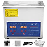 Best Ultrasonic Cleaners - VEVOR Commercial Ultrasonic Cleaner 3L Heated Ultrasonic Cleaner Review