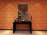 Contempo Living 3D-Horseshoe 3D Wall Panel 27-Square White