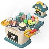 OR OR TU Juego de cocina para niños con agua corriente, juego de cocina para niños y niñas, simulación de lavavajillas con grifo de trabajo y drenaje regalos educativos para niños