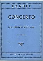 ヘンデル: 協奏曲 ヘ短調/インターナショナル・ミュージック社/トロンボーンとピアノ