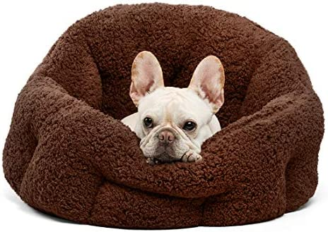 OrthoComfort Deep Dish Cuddler Self Warming Cat and Dog Bed Cushion for Joint Relief and Improved product image