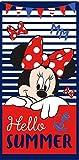 Toalla de Playa o Piscina Infantil de Disney Licencia Oficial (Minnie Mouse C)
