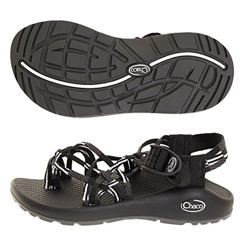 Chaco Women's ZX/3À Classic Scatter Black/White 8 B US
