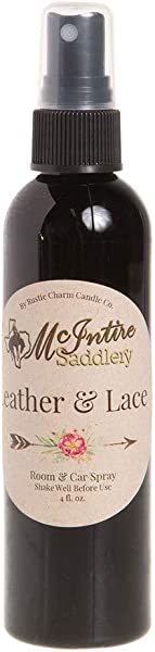 NRS McIntire Saddlery Leather Lace Room Spray Scent