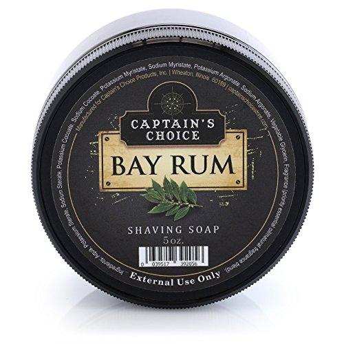 best bay rum shaving soap