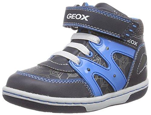 Geox Baby Jungen B Flick Boy C Lauflernschuhe, Blau (C4366DK Navy/LT Blue), 22 EU