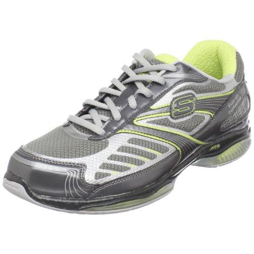 Skechers Shape-ups Ultra 13000 Shape Ups Toners - Zapatillas de Gimnasia para Mujer, Color Gris, Talla 36