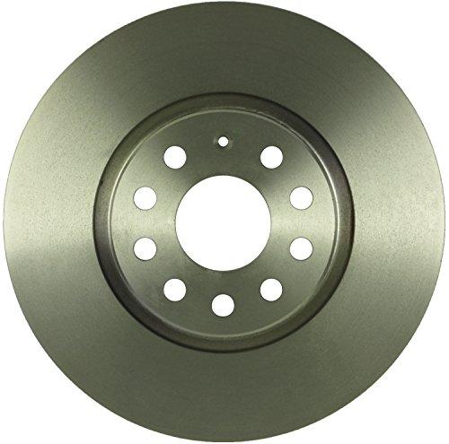 Bosch 14010043 QuietCast Premium Disc Brake Rotor For: Audi A3, A3 Quattro, TT, TT Quattro; Volkswagen Beetle, CC, Eos, Jetta, Golf, GTI, Passat, Tiguan, Front