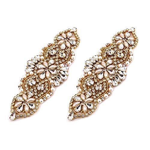 SUPVOX 1 metro de faja de vestido de diamantes de imitaci/ón de colores bling para faja de vestir diy cintur/ón bolsas zapatos adornos